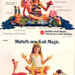 Knit Magic courtesy of Mattel