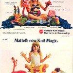 Knit Magic courtesy of Mattel