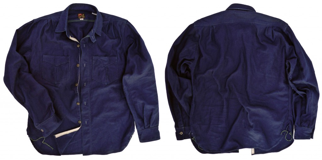 Workman shirt Fall 2014 Mister Freedom