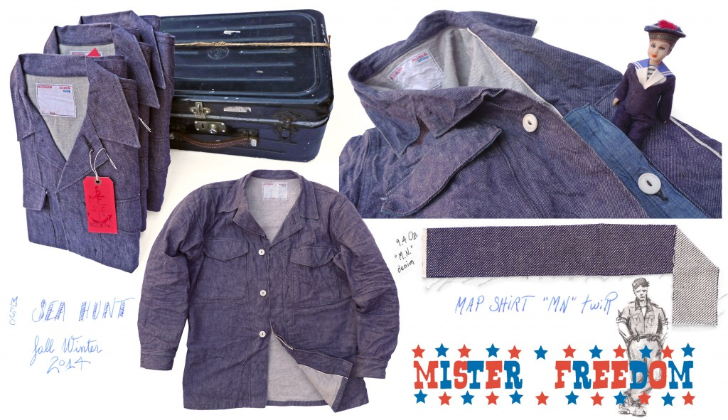 Map Shirt Marine Nationale Mister Freedom 2014