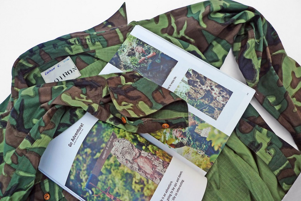 ERDL patrol Shirt Mister Freedom CLUTCH Magazine