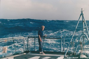 Rockin & rollin' on the fantail, Indian Ocean 1986