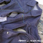 Vintage Marine Nationale work shirt