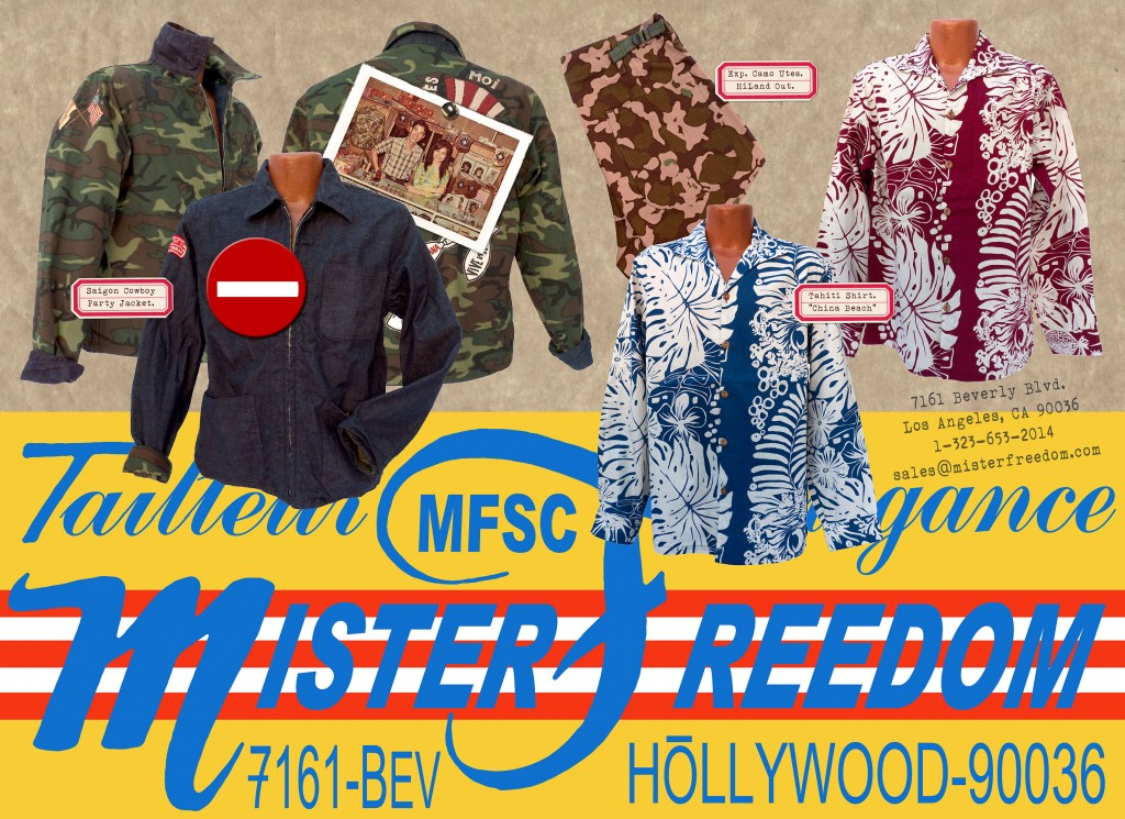 Mister Freedom Spring 2015 Saigon Cowboy CENSORED