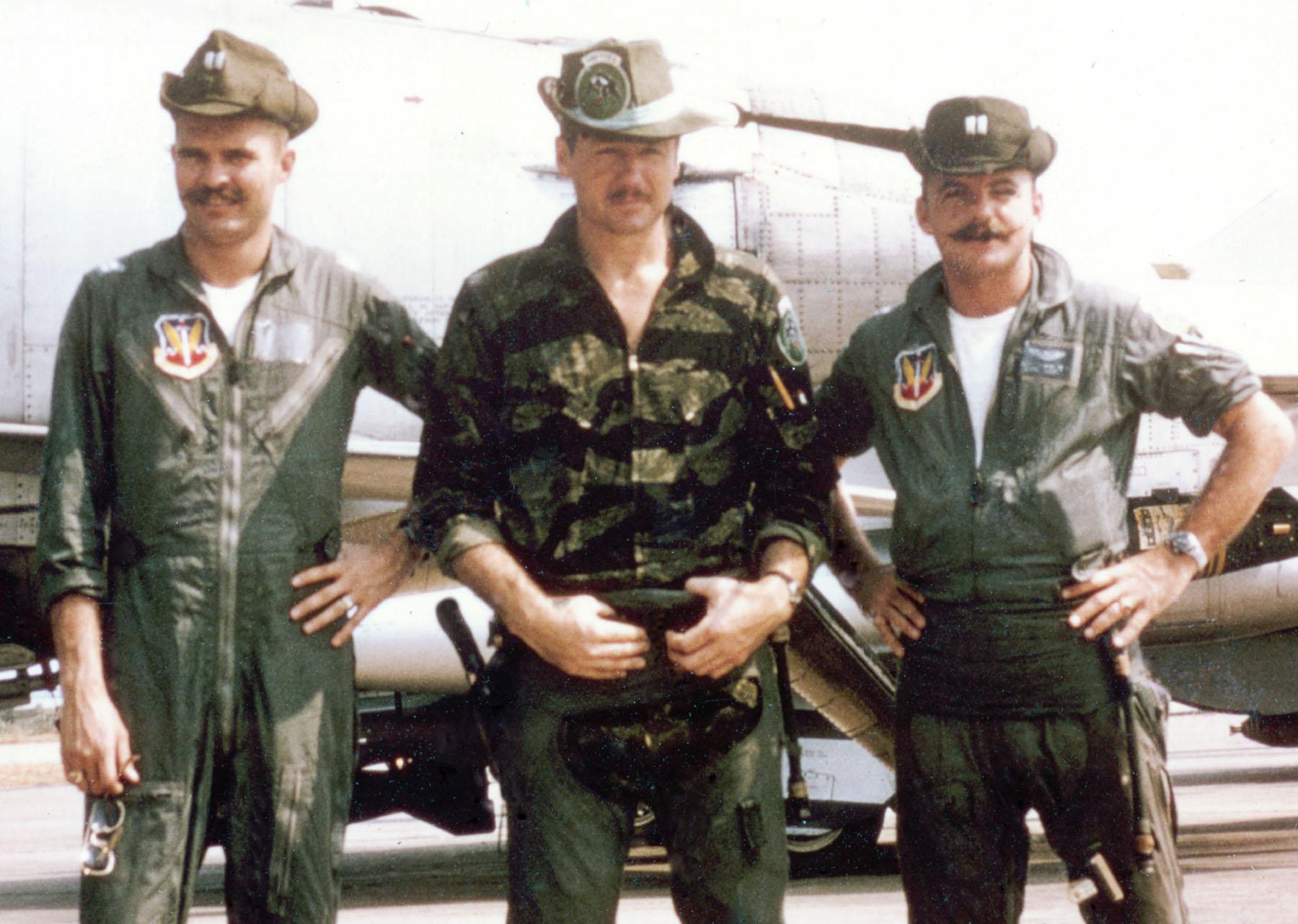 The Evac Jak Experimental Camouflage Saigon Cowboy