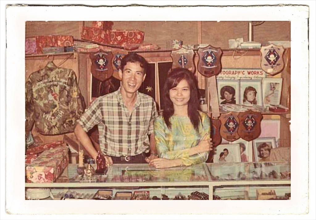 Souvenir shop at Camp Reasoner (1968) Courtesy Doc Chapman 1st Recon Bn