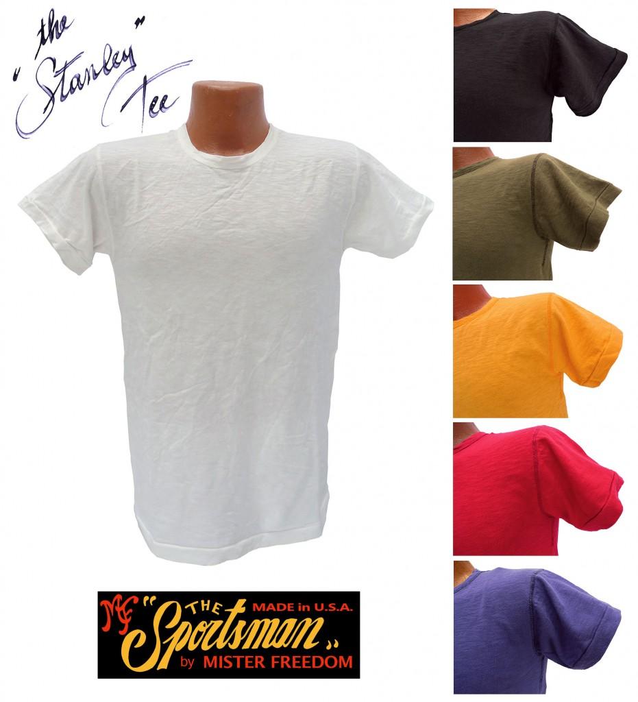 Mister Freedom Stanley T-Shirt 2015