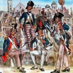 Uniformes Revolution Francaise 1789