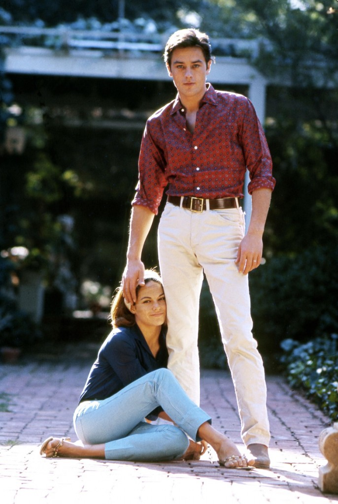 Alain & Nathalie Delon (1967)