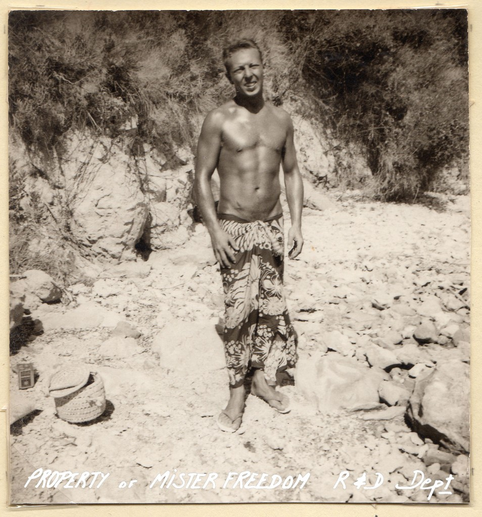 Gérard Loiron, Club Med, Greece, circa 1957.