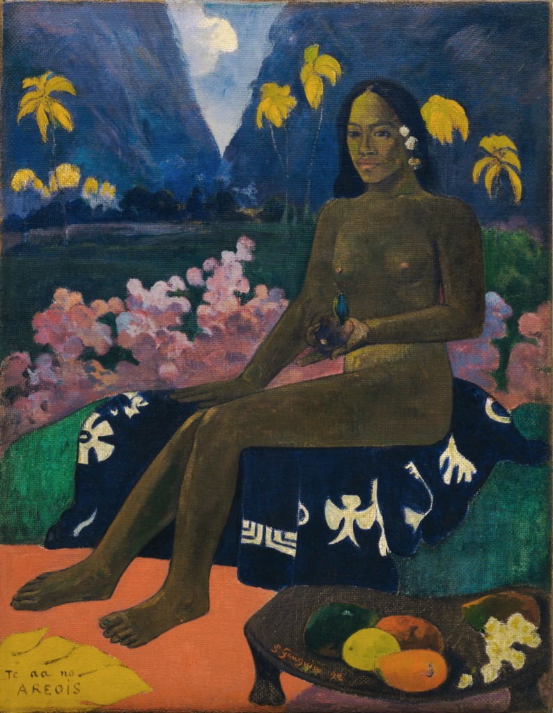 "Paul Gauguin ""Te aa no areois"", 1892 (Courtesy NY Museum of Modern Art)"
