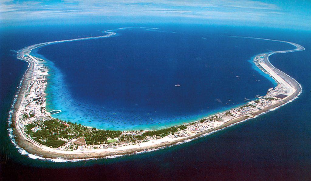 Mururoa Atoll, Tuamotu Archipelago, French Polynesia, 1980.