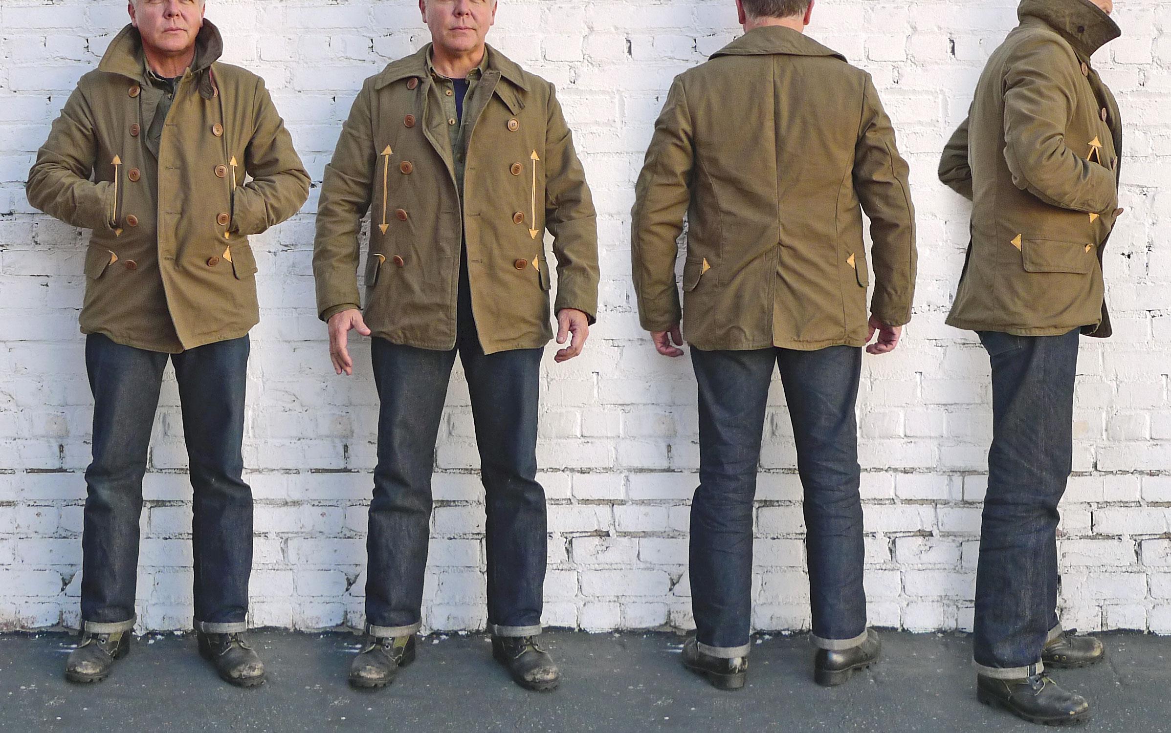 "9cfbfddc262 Mister Freedom® MAC Jacket, cotton back sateen OG-107, mfsc ""Surplus ..."