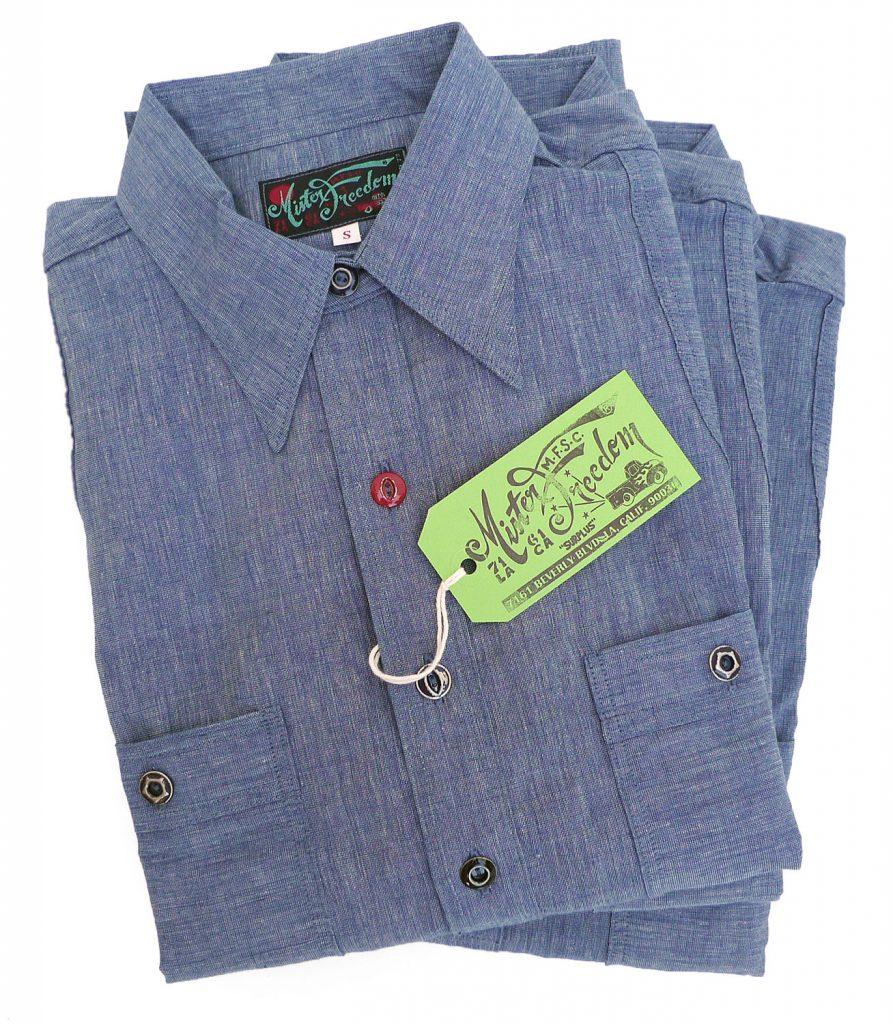 "16babfb9078 Mister Freedom® ""SECOYA"" Double-Back Ventilated Work Shirt"