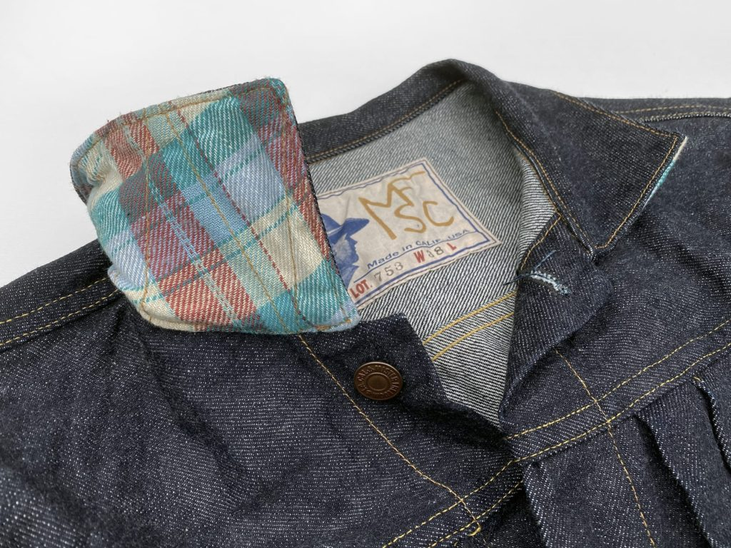 Mister Freedom® RANCH BLOUSE, SC66 denim edition. FW2020 ©2020