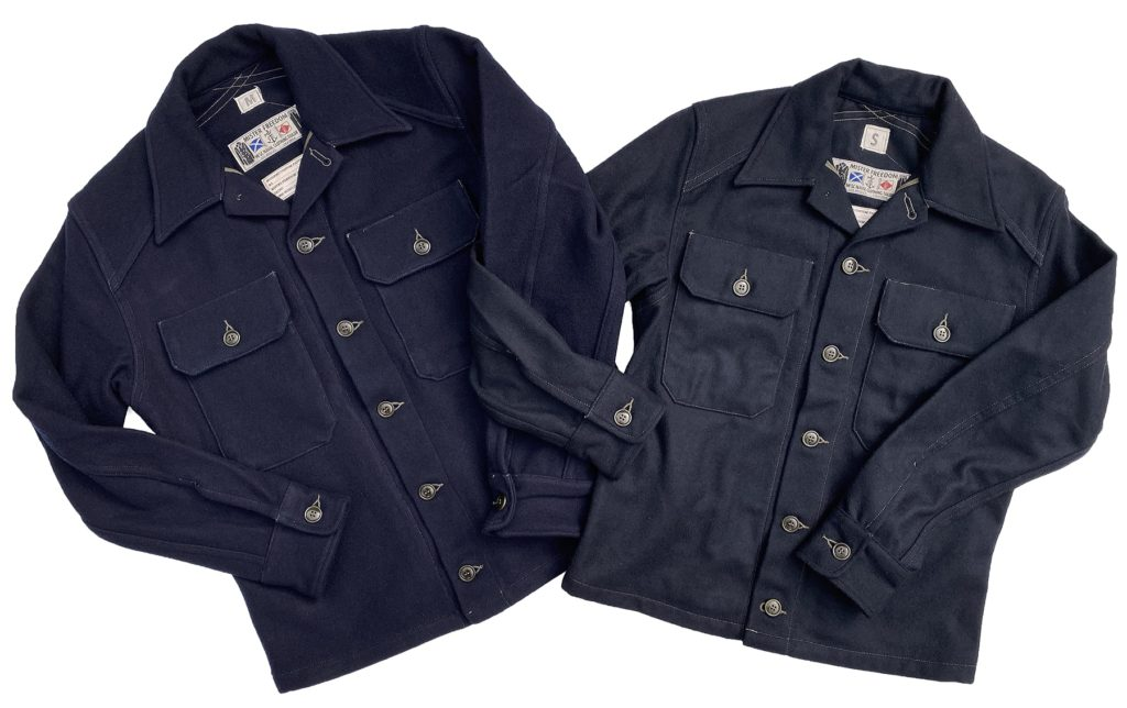 Mister Freedom® MF51 Field Shirt, melton wool.