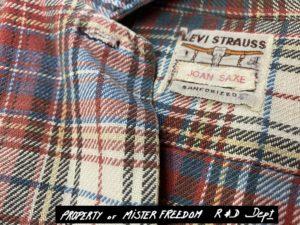 1950's vintage Levi's plaid shirt.