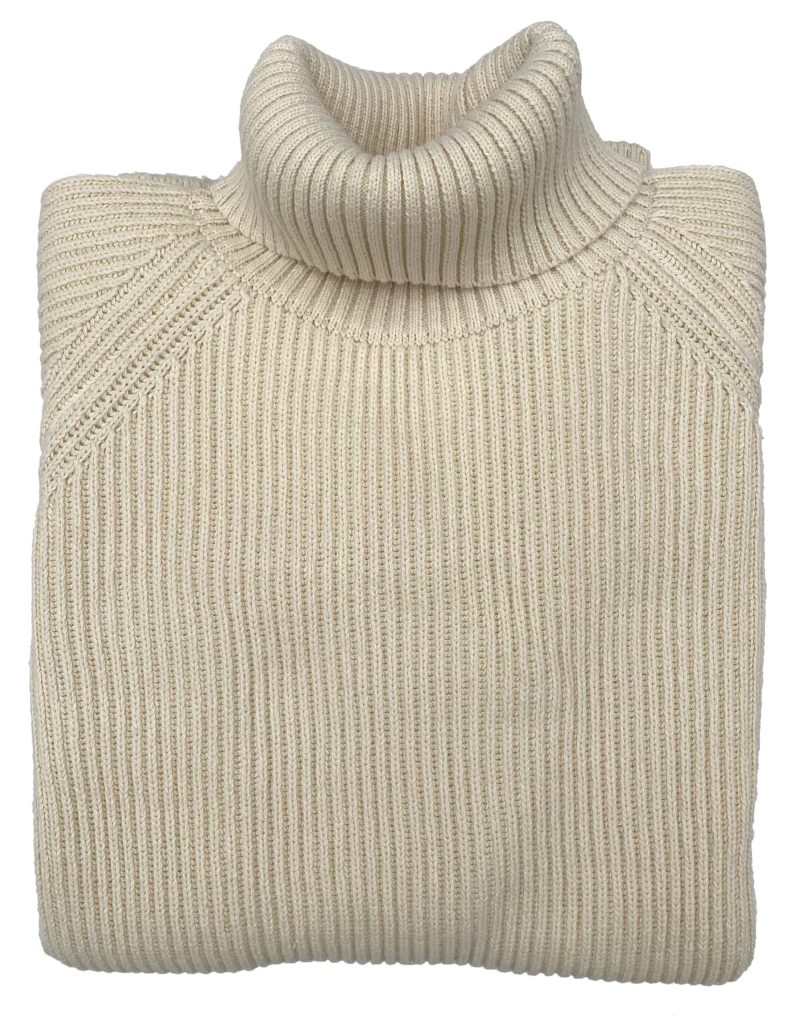 Mister Freedom® PRIVATEER Rollneck cotton rib sweater ©2020