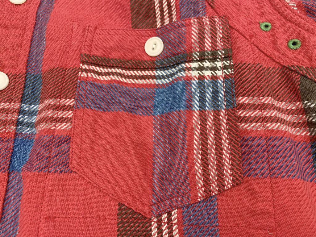 Mister Freedom® SECOYA Shirt, heavy flannel ©2020