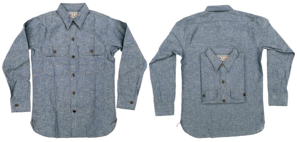 Mister Freedom® SNIPES Shirt, indigo chambray ©2020